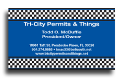 tri city business cards